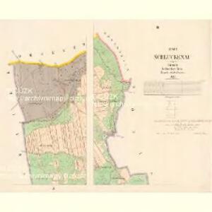 Schluckenau - c7751-1-003 - Kaiserpflichtexemplar der Landkarten des stabilen Katasters