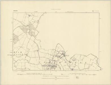 Bedfordshire V.SW - OS Six-Inch Map
