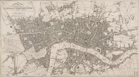 A New Plan of the Cities of LONDON, WESTMINSTER &c. &c.