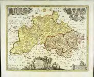 Buckingamiæ comitatvs cum Bedfordiensi; vulgo Buckingamshire and Bedfordshire
