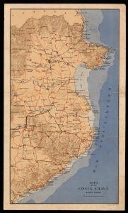 Mapa de la Costa Brava / cartografia R. Dolcet