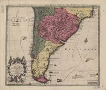 Carte du Paraguay, du Chili, du Detroit de Magellan &c. : dressée sur les descriptions des PP. Alfonse d'Ovalle, et Nicolas Techo, et sur les relations et memoires de Brouwer, Narbouroug, Mr. de Beauchesne &