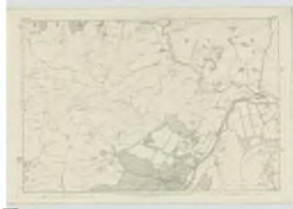 Peebles-shire, Sheet XII - OS 6 Inch map