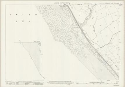 Cumberland LXXVII.12 & 16 (includes: Beckermet St Bridget; Seascale) - 25 Inch Map