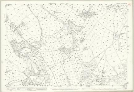 Cornwall LXVIII.15 (includes: Ludgvan; Madron) - 25 Inch Map