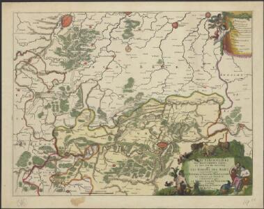 Carte particulière des mouvements faits, et des postes occupez par les armées des aliez commandées par le Roy de la Grande Bretagne et celles de France commandées par le Marechal de Villeroy pendant le siège de namur, 1695