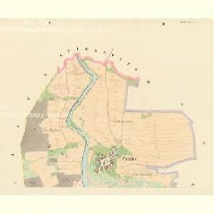 Czizitz (Czizic) - c1035-1-001 - Kaiserpflichtexemplar der Landkarten des stabilen Katasters