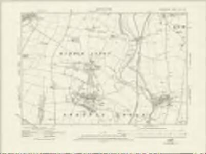 Oxfordshire XVI.SW - OS Six-Inch Map