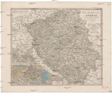 Des Königreiches Böhmen Mitte, Süden und Westen