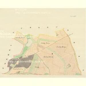 Ladonowitz - m1833-1-001 - Kaiserpflichtexemplar der Landkarten des stabilen Katasters