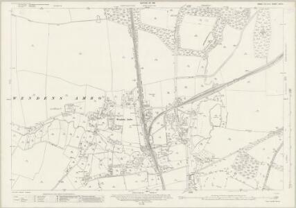 Essex (New Series 1913-) n XIII.3 (includes: Newport; Saffron Walden; Wendens Ambo) - 25 Inch Map