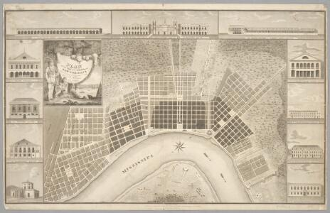Plan of the city and suburbs of New Orleans : from an actual survey made in 1815