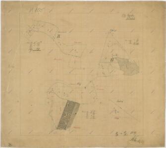 Hospodářská mapa revíru Rajské a Sobětice
