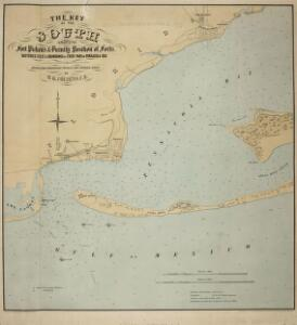 The Key of the South [United States], showing Fort Pickens and vicinity