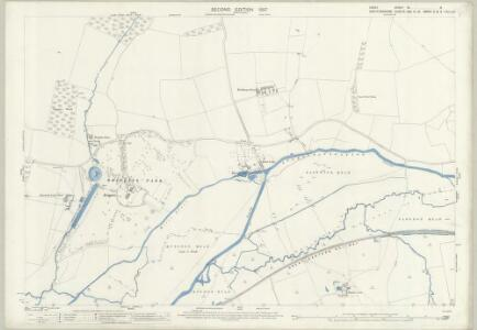 Essex (1st Ed/Rev 1862-96) XL.8 (includes: Eastwick; Great Parndon; Hunsdon; Roydon; Stanstead Abbots) - 25 Inch Map