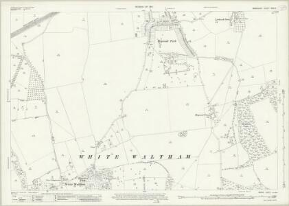 Berkshire XXXI.5 (includes: Bray; Shottesbrooke; White Waltham) - 25 Inch Map