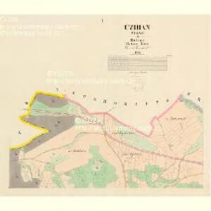 Czihan (Čyhan) - c1011-1-001 - Kaiserpflichtexemplar der Landkarten des stabilen Katasters