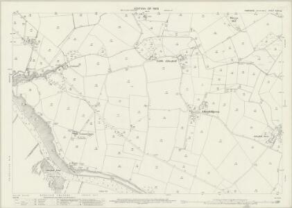 Hampshire and Isle of Wight XCVII.12 (includes: Brixton; Chale; Shorwell) - 25 Inch Map