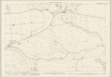 Devon CVII.5 (includes: Lydford) - 25 Inch Map