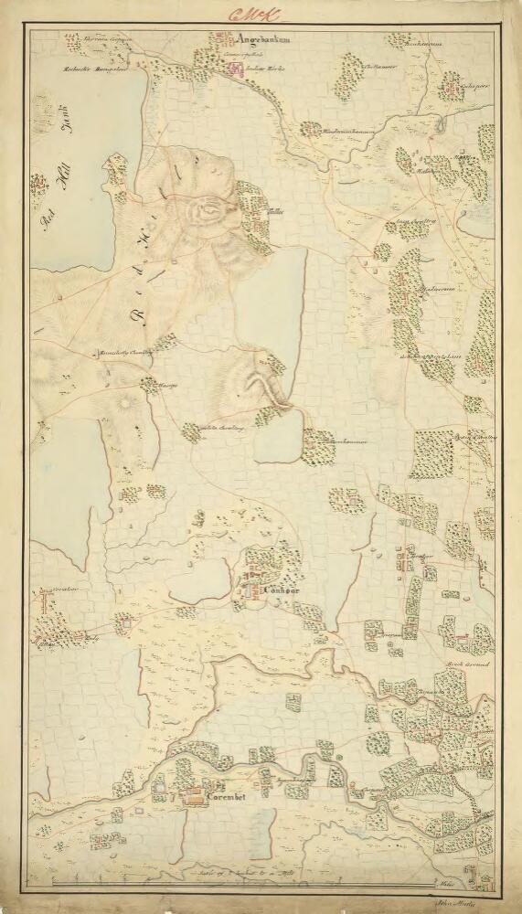Carte De Linde Mysore.Sketch Plan Of The Attack On Seringapatam Mysore