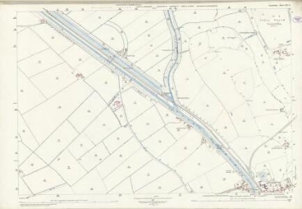 Lincolnshire LXXI.12 (includes: Bardney; Branston and Mere; Potter Hanworth) - 25 Inch Map