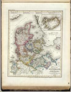 Denmark, Holstein, Mecklenburg, Island.