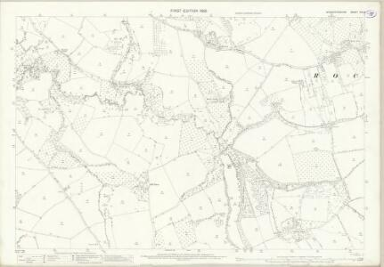 Worcestershire XIX.6 (includes: Rochford; Tenbury) - 25 Inch Map