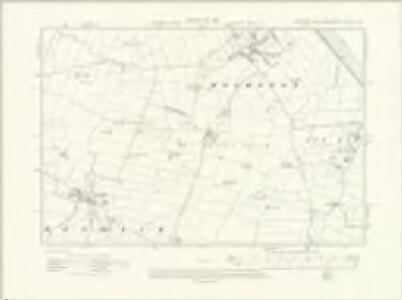 Yorkshire CCLVII.NW - OS Six-Inch Map