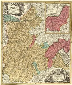 Bavariae Pars Superior tam in sua Regimina Principaliora quam in eorundem Praefecturas Particulares accuratè divisa