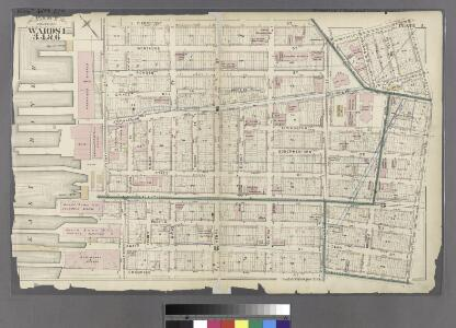 Plate 3: Part of Wards 1, 3, 4, & 6. City of Brooklyn.