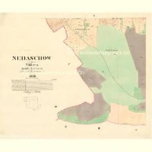 Nedaschow - m1940-1-005 - Kaiserpflichtexemplar der Landkarten des stabilen Katasters