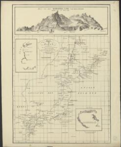 Kaart van Japan : behoorende tot de, door het Provinciaal Utrechtsch Genootschap bekroonde Verhandeling van R.G. Bennet en J. van Wyk Rz.