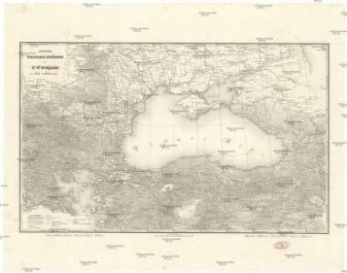 Karta teatra vojny v Turcii v 1828 i 1829 godach