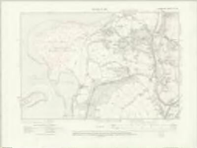 Lancashire XV.SE - OS Six-Inch Map