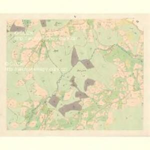 Gross Bistrzitz (Welky Bistrzice) - m3258-1-004 - Kaiserpflichtexemplar der Landkarten des stabilen Katasters