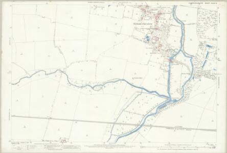 Cambridgeshire XLVII.9 (includes: Barton; Cambridge; Grantchester; Haslingfield) - 25 Inch Map