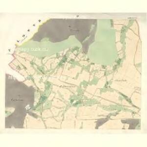 Palkowitz - m2217-1-002 - Kaiserpflichtexemplar der Landkarten des stabilen Katasters