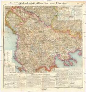 Makedonien, Altserbien und Albanien