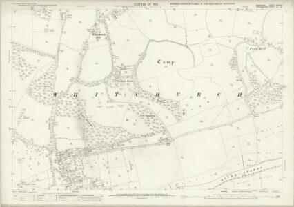 Berkshire XXVIII.8 (includes: Purley; Saltney Mead; Whitchurch) - 25 Inch Map