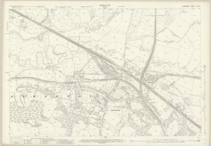 Glamorgan XIV.14 (includes: Gowerton; Loughor; Swansea) - 25 Inch Map