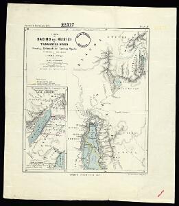 Map of the Rusizi Basin and North Tanganyika according to Stanley, Livingstone, Burton, Speke