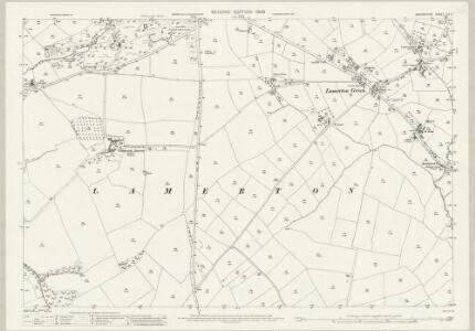 Devon CV.2 (includes: Lamerton; Sydenham Damerel) - 25 Inch Map