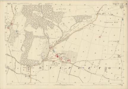Herefordshire V.16 (includes: Norton; Stapleton; Willey) - 25 Inch Map
