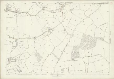 Suffolk LXXI.1 (includes: Hundon; Kedington; Stoke by Clare) - 25 Inch Map