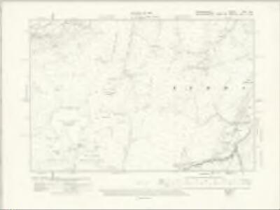 Denbighshire XXX.NW - OS Six-Inch Map