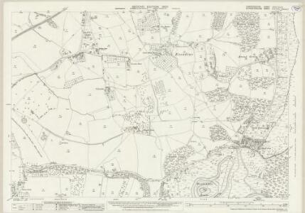 Herefordshire XXXVI.10 & 11 (includes: Colwall; Ledbury Rural; Little Malvern; Malvern Wells; Welland) - 25 Inch Map