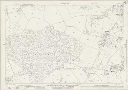 Kent XXXVI.1 (includes: Herne Bay; Hoath; Sturry) - 25 Inch Map