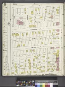 Richmond, Plate No. 81 [Map bounded by Clifton Ave., New York Ave., St. Johns Ave., 4th St.]