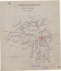 Mapa planimètric de Castellterçol