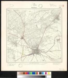Meßtischblatt 2367 : Paderborn, 1896